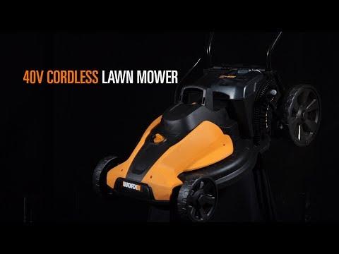 WORX WG744E 40V LawnMower - UK English - www.worx.com