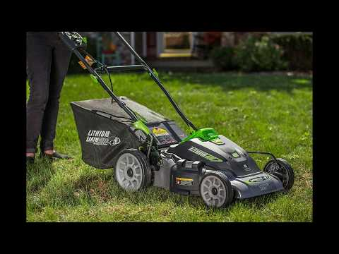 Earthwise 60418 18 Inch 40 Volt Lithium Ion Cordless Electric Lawn Mower