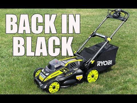 RYOBI 20 Inch 40V Self Propelled Lawn Mower RY40190 - Review