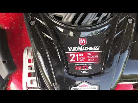 Yard Machine Lawnmower Review
