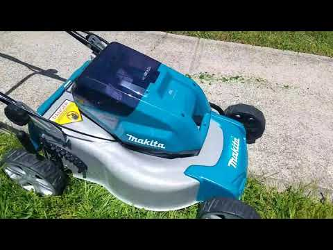 "Makita X2 18"" Steel Deck Lawn Mower"