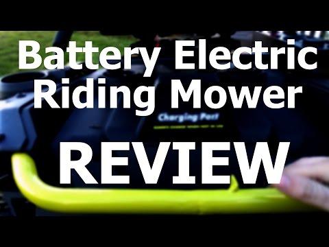 REVIEW: Ryobi RM480e Electric Riding Mower