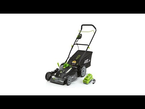 """EARTHWISE 18"""" Cordless Electric Lawn Mower"""