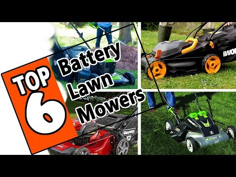 🌻 Best Battery Powered Lawn Mower 2019 - Review Of The Top 6 Cordless Electric Mowers On The Market