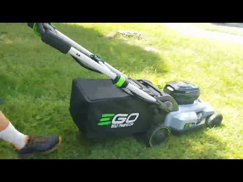 EGO 56v Self Propelled Lawn Mower Review