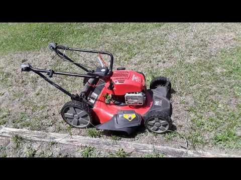Craftsman M310 Self Propelled Push Lawn Mower Review
