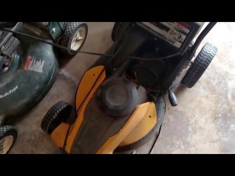 """Review & Re-power WORX WG775 14"""" Electric Lawn Mower - This baby's nuclear!!"""
