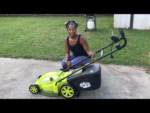 SunJoe Mow Joe Electric Lawn Mower | Product Review