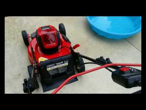 Snapper 60 volt lawn mower review