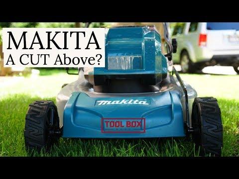 Makita 18V X2 Cordless Lawn Mower XML03 Review