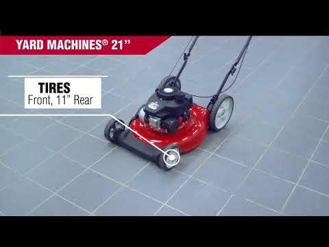 Push Mower - Yard Machines 21