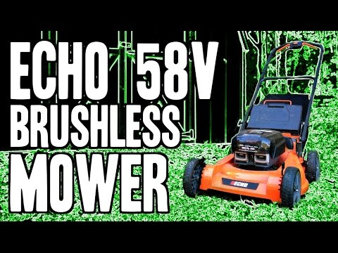 "ECHO 58V Brushless Mower CLM-58V4AH (Cordless 21"" Cut)"