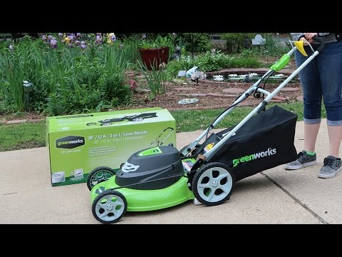 🌍 GreenWorks 25022 12 Amp Corded (20-Inch) Electric Lawn Mower Review 👈