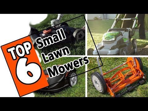 🌻 Best Lawn Mower For a Small Yard 2019 - Review Of The 6 Top Models On The Market Today