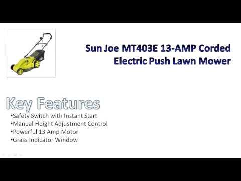 Sun Joe MJ403E Electric Mower Review