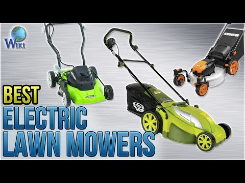 9 Best Electric Lawn Mowers 2018