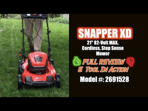 Snapper XD 82V Max Self Propelled 21-inch Cordless Mower - WHAT TO KNOW! REVIEW & DEMO