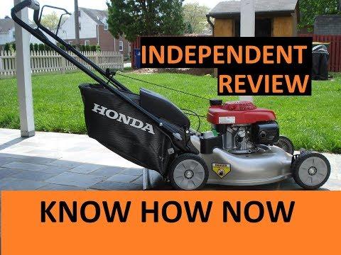 Honda HRR216K9VKA Lawn Mower Review