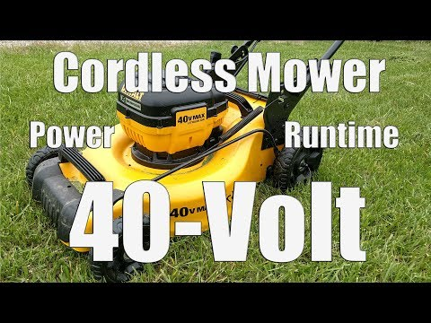 DEWALT DCMW290H1 40-Volt Brushless Mower Review | 3-in-1 Cordless Lawn Kit