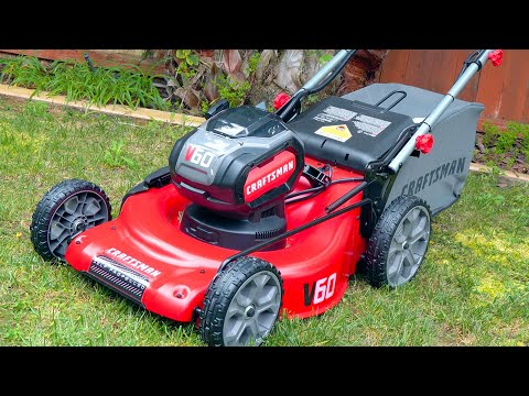 Craftsman V60 Electric Mower Reviewed!