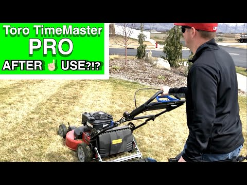 "First Time Use of 30"" Toro TimeMaster 223 CC 