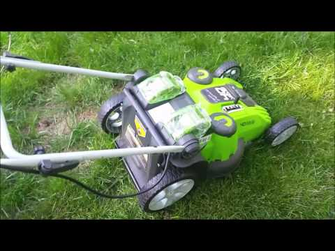 GreenWorks 25302 Twin Force G-MAX 40V Li-Ion 20-Inch Cordless Lawn Mower Review/Unboxing