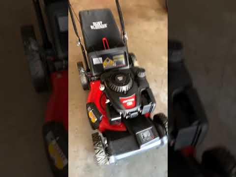 Craftsman M215 159cc 21-Inch 3-in-1 High-Wheeled FWD Self-Propelled Gas Powered Lawn Mower w/ Bagger