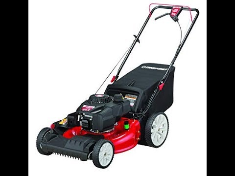 Troy Bilt TB220 21 In. High Wheel Front Wheel Drive Self-Propelled Gas Lawn Mower