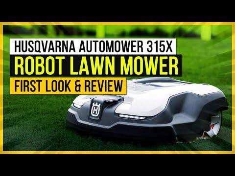 Husqvarna Automower 315X: Robot Lawn Mower - First Look & Review
