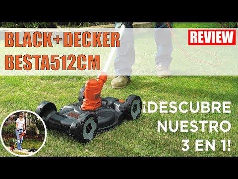 "Compact Electric Lawn Mower BLACK+DECKER BESTA512CM 12"" 3in1 review 2018 BLACK DECKER"