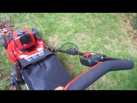 Snapper XD 21in 82V cordless battery mower - Wet leaves, worst case