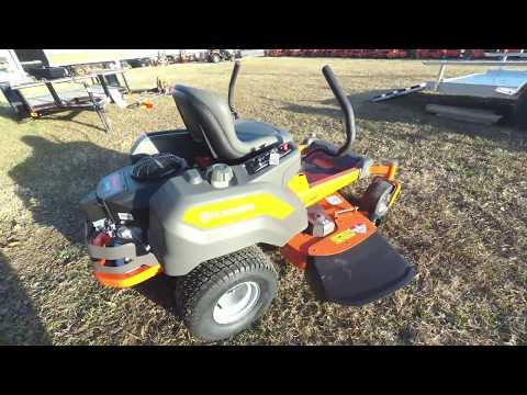 """Husqvarna Z248F Zero Turn Lawn Mower 48"""" Deck 23 HP Kawasaki Review"""