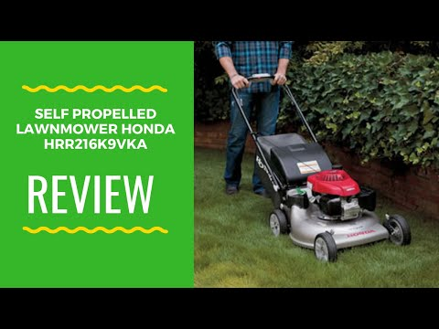 2019 Review Self Propelled Lawnmower Honda HRR216K9VKA