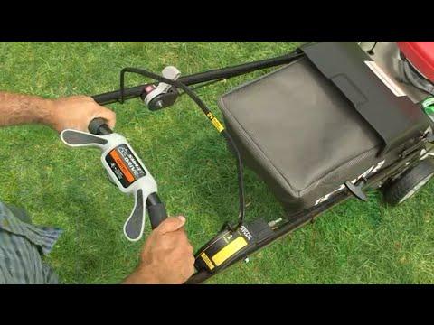 Honda HRR216VYA 160cc 21 in. Gas Lawn Mower Operation