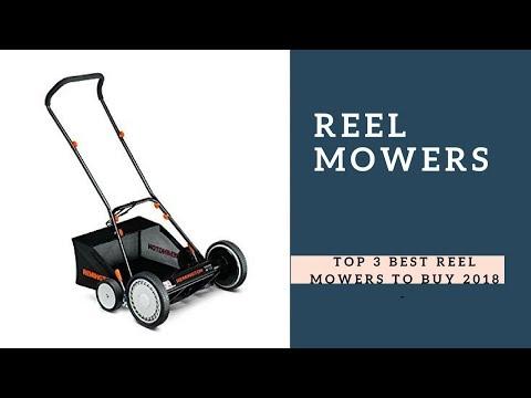 Top 3 Best Reel Mowers To Buy 2018 - Reel Mowers Reviews