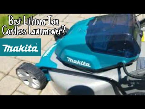 """MAKITA 18v X2 36v Brushless 18"""" Lawn Mower"""