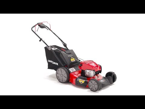 CRAFTSMAN M310 163-cc 21-in Self-propelled Gas Lawn Mower with Briggs & Stratton Engine