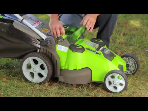 GreenWorks 25302 Lawn Mower (Don't buy it before you watch this)