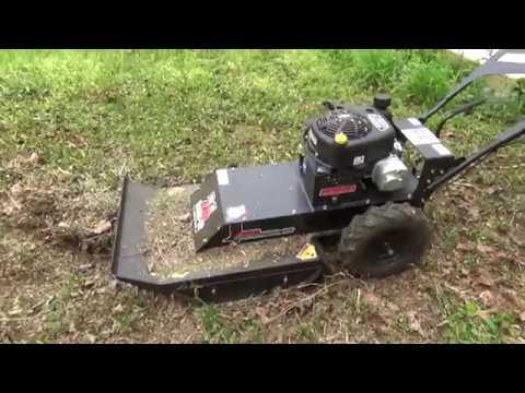 Swisher Predator Rough Cut Mower (First Test Run)