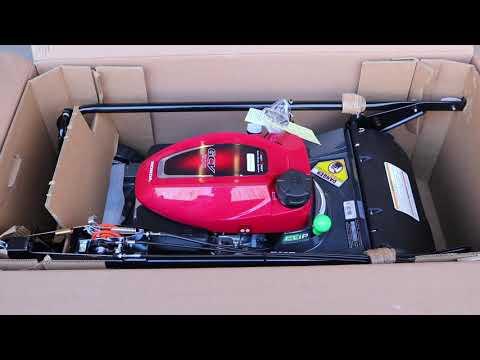 New Honda Mower HRX217HYA