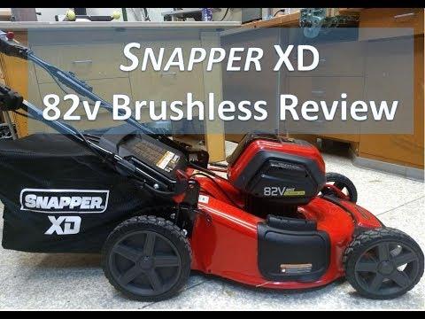 Snapper XD 82v Self Propelled Lawn Mower